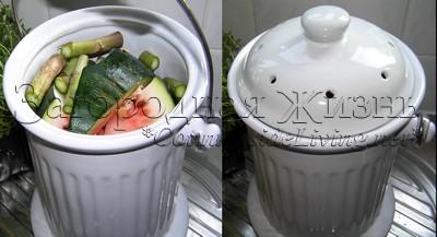 Кухонные отходы для приготовления компоста в домашних условиях