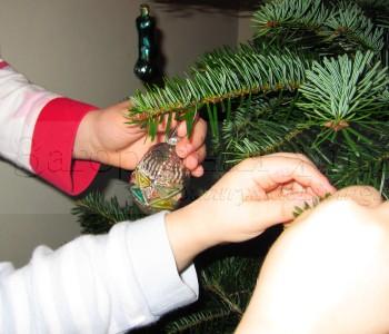 Как украсить новогоднюю елку. Стиль кантри (деревенский). Игрушки из натуральных материалов, фольклорные мотивы