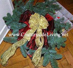 Мой рождественский венок 2008 г.