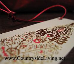 Этикетки (бирки, ярлыки) для новогодних подарков