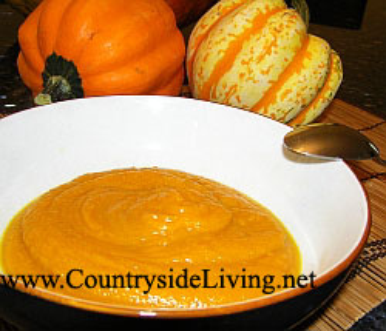 как приготовить духовки из тыквы суп