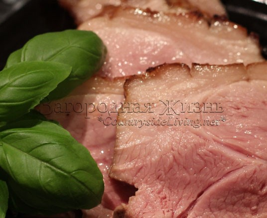 Свинина в духовке. Свиная нога: свиной окорок, запеченный в глазури из меда и горчицы на праздник