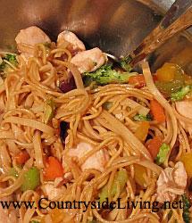 блюда приготовленные в воке рецепты лапши