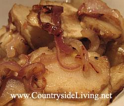Топинамбур, земляная груша. Теплый салат из топинамбура. Овощное блюдо
