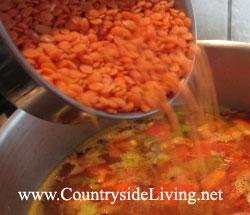 суп с чечевицы рецепт с фото