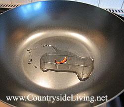 Сковорода вок для быстрого приготовления китайских и тайских блюд stir-fry